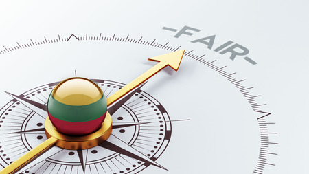 lawful: Lithuania High Resolution Fair Concept