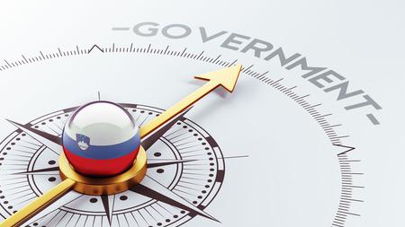 gov: Slovenia High Resolution Government Concept Stock Photo