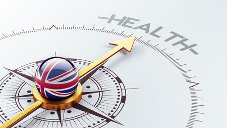 United Kingdom High Resolution Health Concept