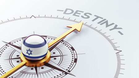 inevitability: Israel High Resolution Destiny Concept Stock Photo