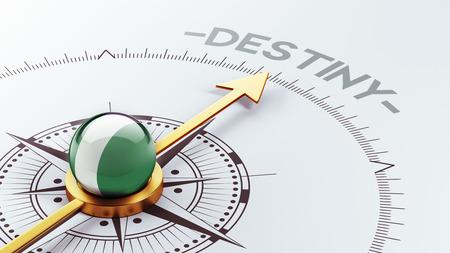 inevitability: Nigeria  High Resolution Destiny Concept
