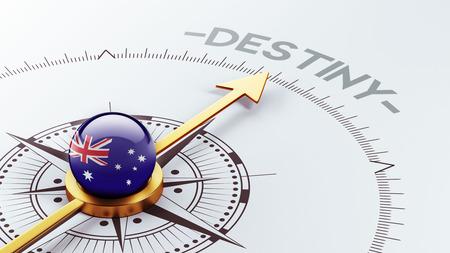 destin: Australie Haute D�finition destin Concept Banque d'images