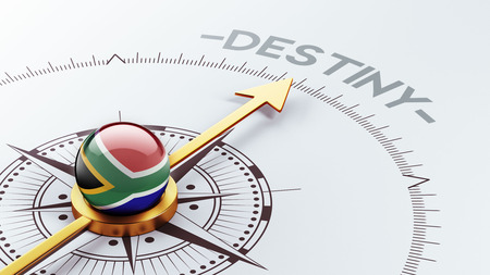 destiny: South Africa High Resolution Destiny Concept Stock Photo