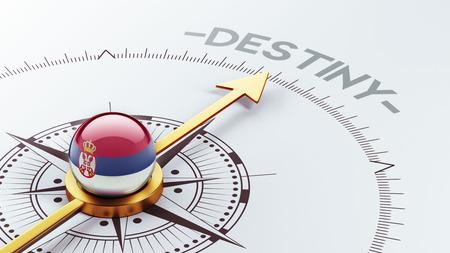 destin: Serbie R�solution destin Concept haut