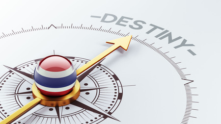 inevitability: Thailand High Resolution Destiny Concept