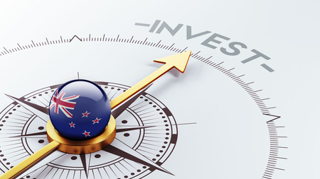 financial advisors: New Zealand High Resolution Invest Concept