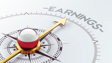 earnings: Poland High Resolution Earnings Concept