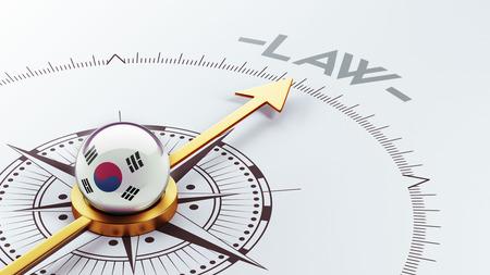 South Korea High Resolution Compass Concept photo