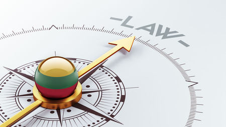 lithuania: Lithuania High Resolution Law Concept Stock Photo
