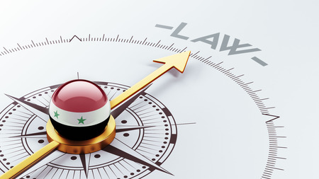 prosecution: Syria High Resolution Law Concept
