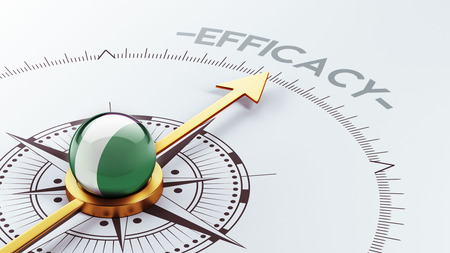 efficacy: Nigeria  High Resolution Efficacy Concept Stock Photo