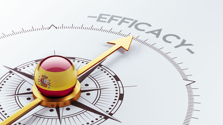 efficacy: Spain High Resolution Efficacy Concept