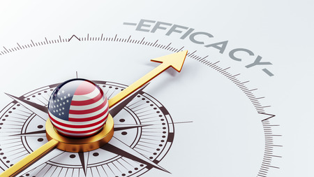 efficacy: United States High Resolution Efficacy Concept Stock Photo