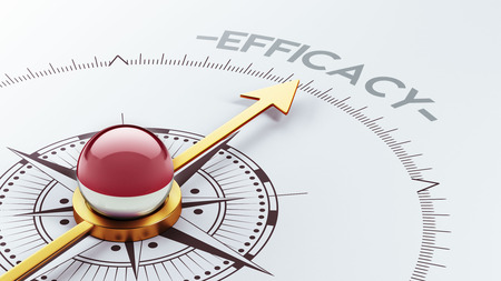 efficacy: Indonesia High Resolution Efficacy Concept Stock Photo