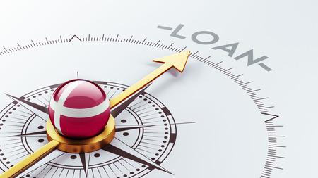 Denmark High Resolution Loan Concept photo
