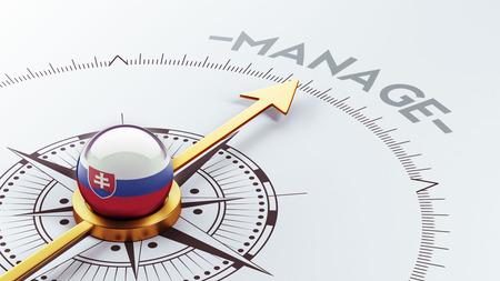 Slovakia High Resolution Manage Concept