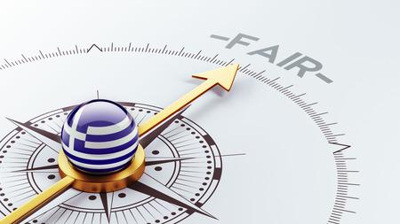 equitable: Greece High Resolution Fair Concept Stock Photo