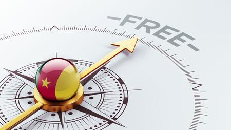 gratuity: Cameroon High Resolution Compass Concept