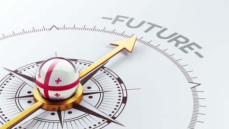 imminent: Georgia High Resolution Future Concept Stock Photo