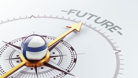 フィンランドの高解像度の未来の概念