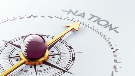 nation: Qatar High Resolution Nation Concept
