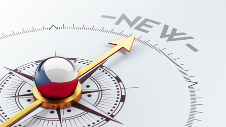 renewed: Czech Republic High Resolution New Concept Stock Photo