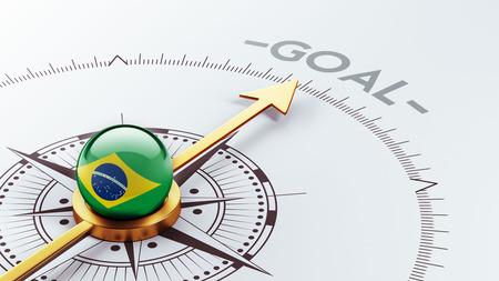 Brazil High Resolution Goal Concept