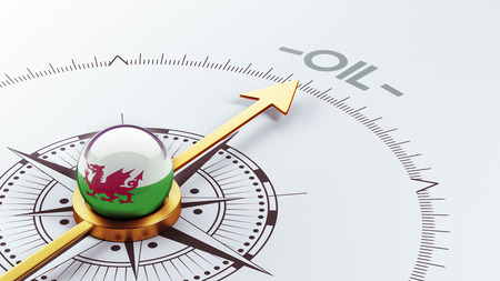 Wales High Resolution Oil Concept photo