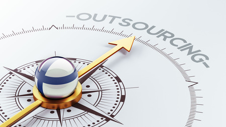 Finland High Resolution Outsourcing Concept Stock Photo