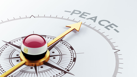 pacifist: Egypt High Resolution Peace Concept Stock Photo
