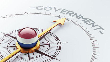 gov: Netherlands High Resolution Government Concept