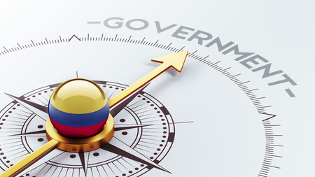 gov: Colombia High Resolution Government Concept Stock Photo