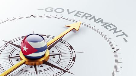 gov: Cuba High Resolution Government Concept Stock Photo