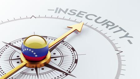 insecurity: Venezuela High Resolution Insecurity Concept