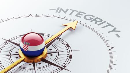 sincere: Croatia  High Resolution Integrity Concept Stock Photo