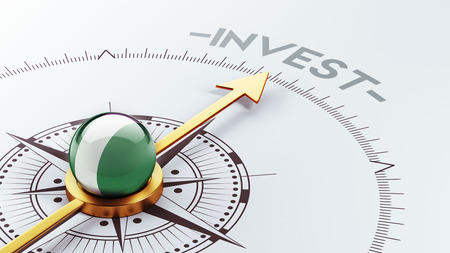 financial advisors: Nigeria  High Resolution Invest Concept