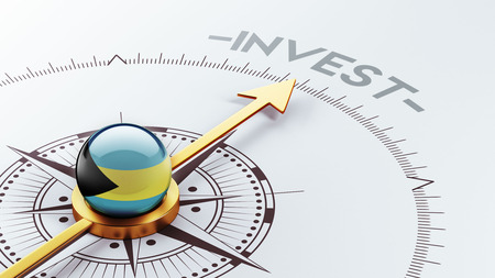 strategist: Bahamas  High Resolution Invest Concept Stock Photo