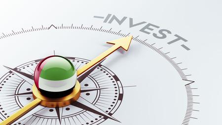strategist: United Arab Emirates  High Resolution Invest Concept