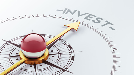 Indonesia High Resolution Invest Concept