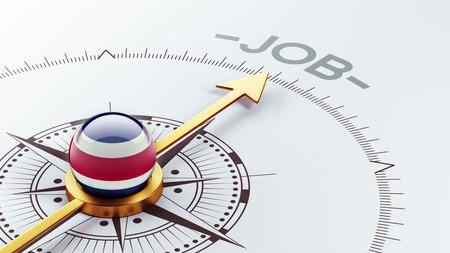 Costa Rica  High Resolution Job Concept photo