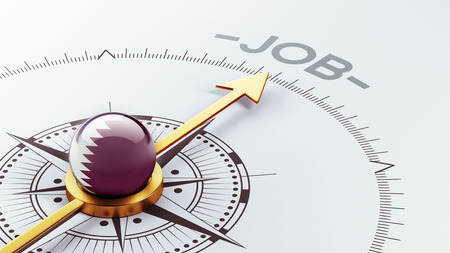 Qatar High Resolution Job Concept photo