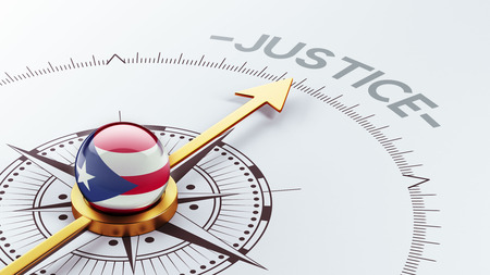 Puerto Rico High Resolution Justice Concept Stock Photo