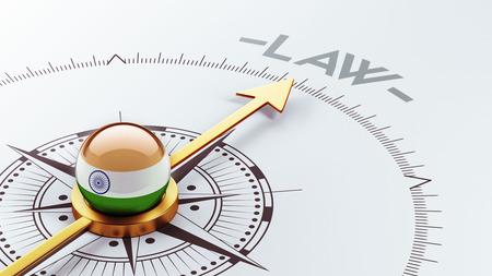 India High Resolution Law Concept Reklamní fotografie