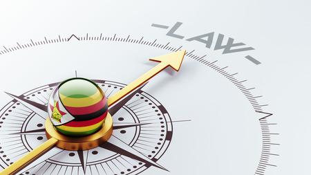 zimbabwe: Zimbabwe High Resolution Law Concept