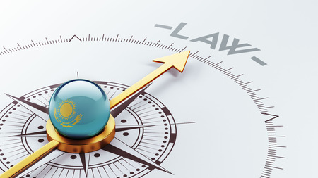 kazakhstan: Kazakhstan High Resolution Law Concept Stock Photo