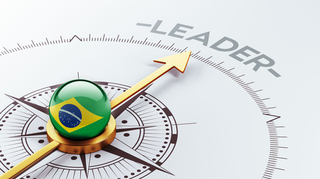Brazil High Resolution Leader Concept photo