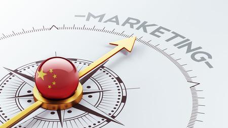 China High Resolution Marketing Concept Stock Photo