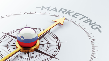 Slovenia High Resolution Marketing Concept