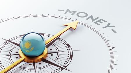 kazakhstan: Kazakhstan High Resolution Money Concept Stock Photo