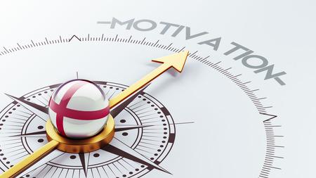 motivator: England High Resolution Motivation Concept